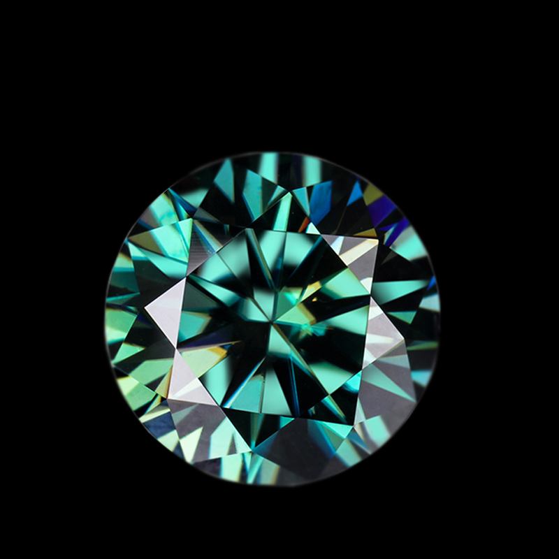 Wholesale Green Moissanite Loose Stone