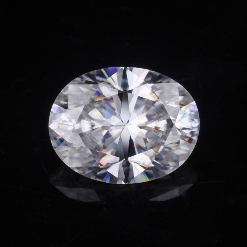 Oval shape Moissanite Stone
