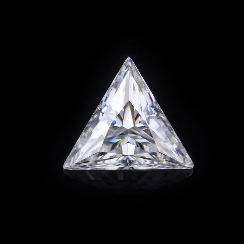 Wholesale Loose Moissanite Triangle Shape