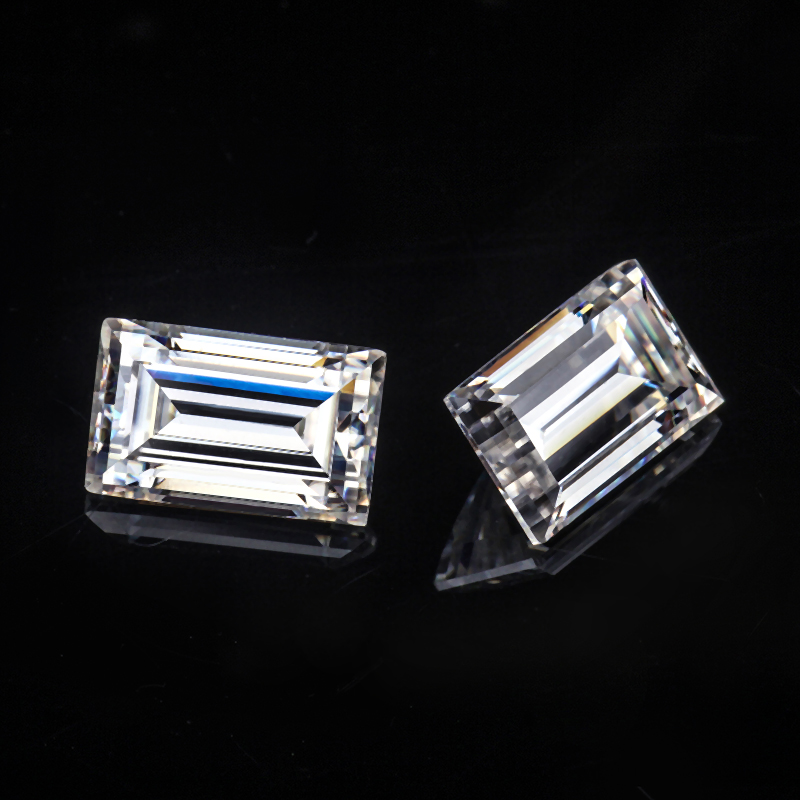 Loose Moissanite Emerald Cut Wholesale
